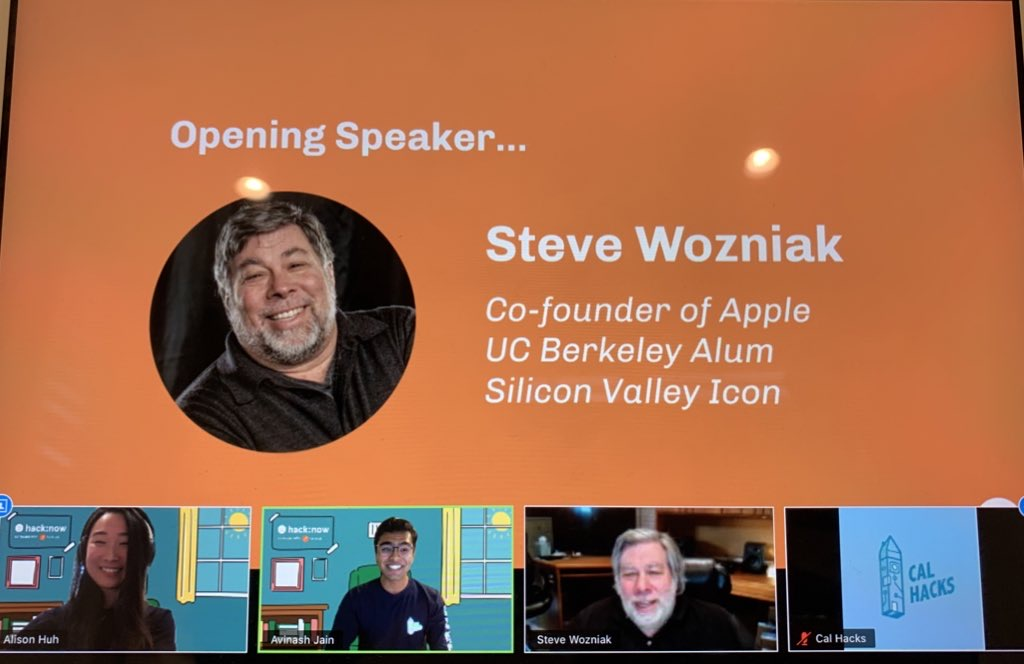 Meeting Steve Wozniak!